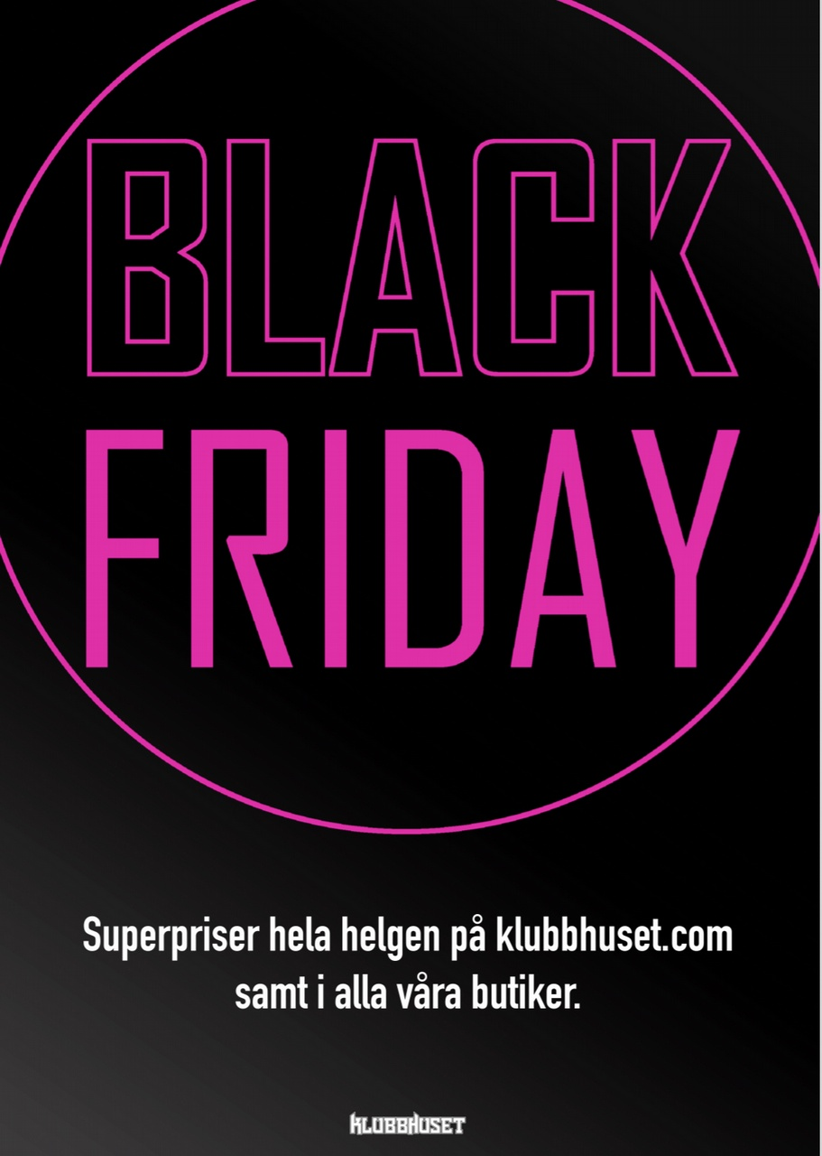 butiker som har black friday